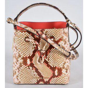 Michael Kors Python Embossed SURI Crossbody Bag